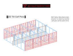 Cattle Feed Trough Design Dairy Calf Housing Canada Design Manufacturing