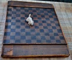 Wooden Game Boards Primitive