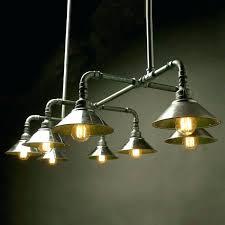 diy pipe lighting. Pipe Light Fixture Diy Black Lighting  Galvanized Chandelier Metal Diy Pipe Lighting