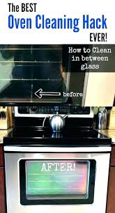 best way to clean oven glass best stove top cleaner electric oven glass top cleaner cooker