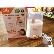 Máy tiệt trùng hâm sữa đa năng 2 bình Fatzbaby FB3012SL
