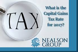 Capital Gains Tax Chart 2017 What Is The Capital Gains Tax Rate For 2017 Nealson Group