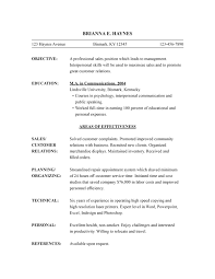 Sample Combination Resume Functional Resume Template Free