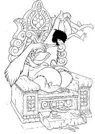 Guarda Tutti I Diesgni Da Colorare Di Mowgli E Baloo