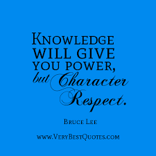 Knowledge and character - Inspirational Quotes about Life, Love ...
