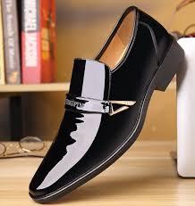 <b>Business men shoes</b> Design Slip on Leather <b>shoes men Pointed</b> toe ...