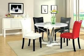 modern glass dining table set round breakfast table set breathtaking modern round dining table set modern