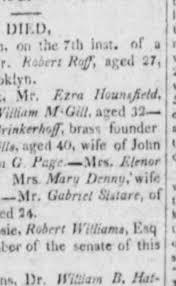Priscilla Mills obit March 1813 Long Island STAR - Newspapers.com
