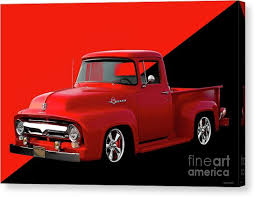 Pickup Truck Tailgate Canvas Prints (Page #4 of 5) | Fine Art America