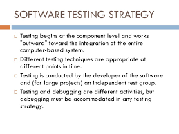 Software Testing Strategy Tosya Magdalene Project Org