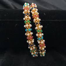 Devita Designer Jewellery Pin On Bangles