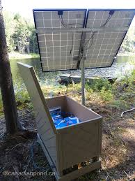 news pond and lake management keeton industries solar aeration battery backup vs direct drive