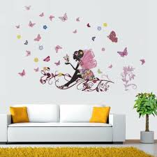 removable wall sticker fairy elf decal