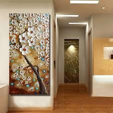 handmade modern canvas on oil painting