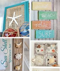 beach crafts coastal diy wall art photo details from these photo we d