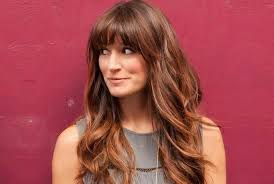if you have a square face go for this iconic hairstyle with long layers and cool long fringes nothing would work as amazingly as this on your face