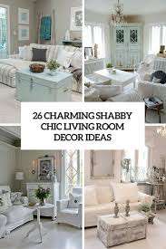 Shabby Chic Decorating 26 Charming Shabby Chic Living Room Dccor Ideas Shelterness
