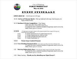 Event Itinerary Template Adorable 44 Birthday Itinerary Templates DOC PDF Free Premium Templates