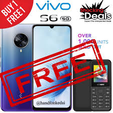 Buy1Free1 <b>VIVO</b> S6 (8+128GB) 100% <b>Original</b> 5G <b>2020</b> [<b>New</b> ...