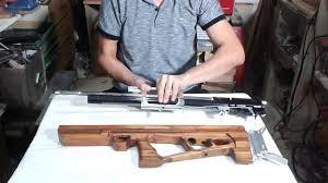 Bullpup Trigger Design Air Arms Bullpup Stocks Trigger System Youtube