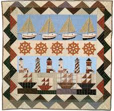 Nautical Quilts - Country Quilts by Choice Quilts & Nautical Large Wall Hanging/Throw Adamdwight.com