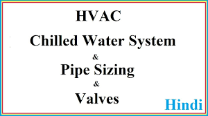 Chilled Water Piping Design Chart Chilled Water System In Hindi Chilled Water Pipe Sizing Part 1