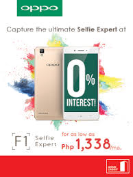 Small Picture Oppo F1 at 0 interest Home Credit