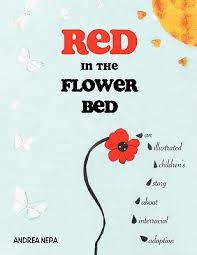 Red In The Flower Bed An Illustrated Children's Story About Beauteous Wonderful Quotes Usi Comg Flowers