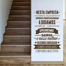 inspirational office decor. Interesting Decor Portuguese Office Rules Vinyl Wall Stickers  Portugal Decorative  Inspirational Quote Decals Decor Intended