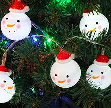 idealgo 10 leds 1 6m white decorations snowman string lights decorative light strings string lights lights for x mas tree garden