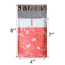 10pcs 4x7 inch 120 180mm poly bubble mailer pink self seal padded envelopes mailing bags