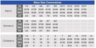 Shoe Size Chart Brazil Us Kids Shoe Size Converter Brazil Usa