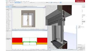 Archicad Hf 410 Tutorial Bim Fenster Holz Alu Internorm Hf 410