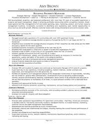 Assistant Property Manager Resume Unique Regional Property Manager