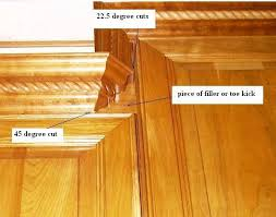 cutting kitchen cabinets. Simple Cutting How To Cut Cabinet Crown Molding 2929 Inside Cutting Kitchen  On Cabinets C