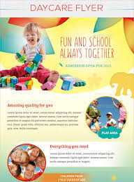 Childcare Flyers Child Care Flyer Design Coastal Flyers