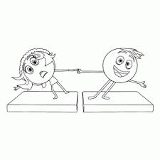 Emoji Movie Kleurplaten Leuk Voor Kids