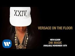 bruno mars versace on the floor traduzione in italiano testo e di