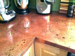 copper counter tops flamed copper faux copper countertops diy