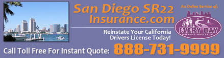 Sr22 Insurance Quotes Fascinating San Diego SR48 Insurance SR48 Filing Insurance For California
