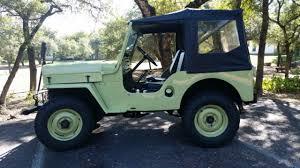 1953 willys cj3b jeep green original engine good condition 1953 willys cj3b jeep green original engine good condition 4wd manual