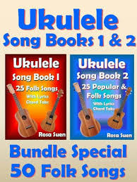 Ukulele players all over the world have direct access to ukutabs its large and completely free curated song archive which is constantly being updated with new songs. Amazon Com Ukulele Song Book 1 2 50 Folk Songs With Lyrics And Ukulele Chord Tabs Bundle Of 2 Ukulele Books Folk Songs Ukulele Songs Ebook Suen Rosa Kindle Store
