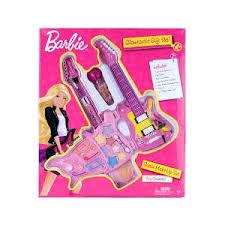 barbie guitar make up set