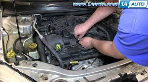 how to install change replace spark plugs 2001 06 chrysler sebring psst