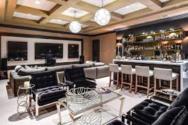 home bar ideas stylish home bar with lounge seating and marble counters home bar ideas diy