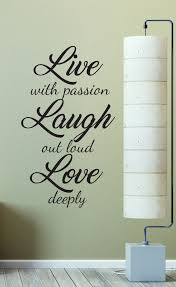 live laugh love wall decal sticker