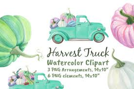 Or native technology svg animations: Harvest Farm Truck With Pumpkins Graphic By Artpanda2018 Creative Fabrica