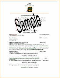 Full Resume Sample 24 Full Resume Sample Actor Resumed 3
