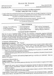 Technical Resume Templates Jwbz Information Technology Management
