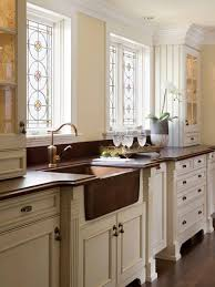 example of a classic kitchen design in boston with recessed panel cabinets a farmhouse